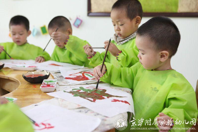 京学附属实验幼儿园创意美术课程